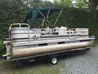 Pontoon boat, 20 foot, 30 HP outboard, Trailer.