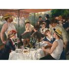 1881 Pierre-Auguste Renoir Luncheon Of The Boating Party Painting Art New Poster