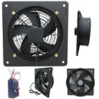 Industrial Ventilation Extractor Metal Plate Fan Axial Exhaust Commercial Blower