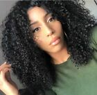 Silk Top Remy Human Hair Wigs Invisible Deep Parting 6A Brazilian Curly Lace Wig