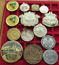 COLLECTION, LOT, INTERESTING JETONS, 14 pc, 357 g  #xxB 103