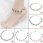 Fashion Silver Plated Chain Anklet Bracelet Barefoot Sandal Beach Foot Jewelry
