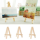 Wooden Mini Display Easel 8x16cm For Craft Decorate Wedding Place Holder Etc.