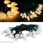 6M 30LED Warm White C7 Strawberry Fairy String Light Home Garden Party Outdoor