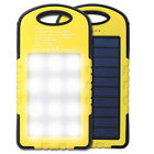Solar Panel Power Bank External Battery Charger for CellPhone Talet Camping Lamp