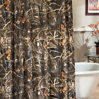 Realtree Max 4 Camouflage Shower Curtain Camo Max-4 Pattern