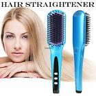 ACEVIVI  Electric Hair Straightener Comb Brush Auto Hair Massager Tool LM
