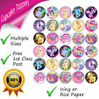 MY LITTLE PONY CUPCAKE TOPPERS BIRTHDAY PARTY MY LITTLE PONY CUPCAKE DECORATIONS