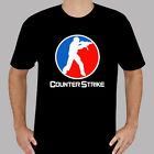 counter strike new game - New Counter Strike Logo Online Game Men's Black T-Shirt Size S to 3XL