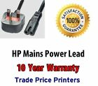 UK Mains Power Lead Cable Cord For HP Officejet Please Select Model In Advert