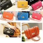 Korean Clutch Shoulder Handbag Quilting Women Chic Crossbody Tote Chain Purse