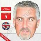 Paul Hollywood Celebrity Chef Card Mask - Made In The UK - Fast Dispatch New