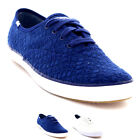 Womens Keds Champion Eyelet Floral Lace Up Low Top Plimsolls Trainers UK 3-8