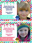 Personalised Childrens Photo Girl Boy Thank You Cards