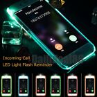 LED Flash Light UP Remind Incoming Call Cover Case Skin For iPhone 5S 6S 7 Plus