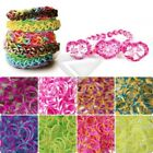 190 8 Sections Loom Rubber Bands Refill 15 S Clips 1 Loom Tool Rainbow Bracelet
