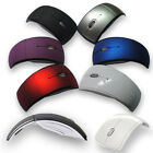 New 2.4GHz Foldable Arc Wireless Optical Mouse Mice + USB Receiver For PC Laptop