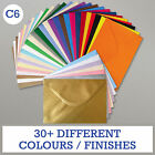 PREMIUM C6 (A6) UK MADE CARD ENVELOPE BLANKS Mini Christmas/Wedding/Greetings UK