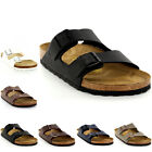 Mens Birkenstock Arizona Leather Buckle Summer Holiday Beach Sandals UK 6-13