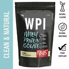 WHEY PROTEIN ISOLATE . 1KG . ALL NATURAL . WPI POWDER . CHOCOLATE VANILLA & MORE