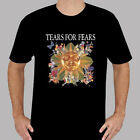 New Tears for Fears Pop Rock Band Music Logo Men's Black T-Shirt Size S to 3XL image