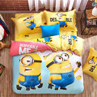 ** Despicable Me Explore Queen Bed Quilt Cover Set - Flat or Fitted Sheet **