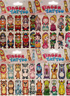 CHILDRENS TATTOO PACKS PRINCESS MONSTER PIRATE ANIMALS KNIGHTS DRAGONS TEMPORARY