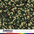 Army Commando Camouflage Military Graphics Vehicle Decal Vinyl film Wrap Pattern