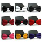 New Fashion Mens Adjustable Polyester Wedding Prom Party Bow Tie TXST