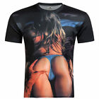 New 3D Print T-Shirts Funny Popular Fashion Women Men Sexy Tee Short Sleeve Tops