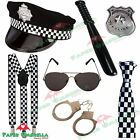 Police Woman Man Fancy Dress Costume Hen Stag party do outfit