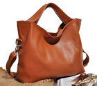 Real leather women's shoulder bag handbag Tote Hobo purse Flaps Messenger bag