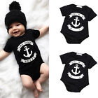 Casual Toddler Kids Baby Boys Clothes Bodysuit Romper Jumpsuit Outfits Set 0-18M
