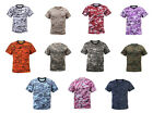 Mens Army Airsoft Military Tactical Paintball Hunting S/S Digital Camo T-Shirt