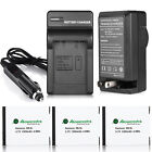 NB-6L NB-6LH Battery / Charger for Canon Powershot D10 D20 S95 SD1300 SX500 IS