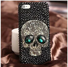 Crystal Skull Skeleton Hard Silicone Phone Case Cover Skin For iPhone 5/5s6/6s