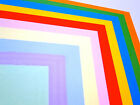 100 Sheets A5 80gsm Assorted Colour Paper Pack Mixed  Bright / Pastel Shades