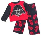 Внешний вид - Toddler Boys Star Wars Darth Vader Pajama Fleece Sleepwear Set Size XS 4
