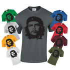 New Che Guevara MENS Face Image T-shirt freedom Revolution cuba colour unisex