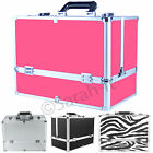 Extra Large Space Professional Beauty Cosmetic Box Jewelry Make Up Vanity Case