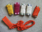 Traditional Kung Fu Corded Belt Assorted Colors