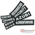 Julius K-9® Klettsticker L Hundegeschirr Powergeschirr Hund Sticker Geschirr K9