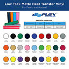 """10 Pack of Iron-On Heat Transfer Vinyl For Fabric: 10 PACK of 9"""" x 12"""" Sheets"""