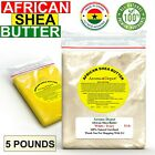 o que é shea butter - 5 Lbs Raw African Shea Butter 100% Pure Natural Organic Unrefined Bulk Wholesale