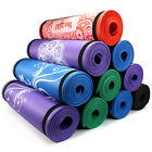 Yes4All Extra Thick - 72 Inch Exclusive Premium Yoga Mat Printed Versions- Strap