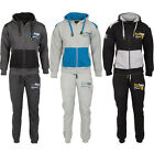 Mens Tracksuit Full Set Fleece Hoodie Hooded Top Bottoms Sweat Jogging DL FUNK