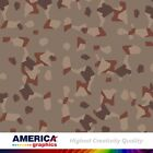 M90 Woodland USA Camouflage Military Graphics Vehicle Decal Vinyl Film Wrap