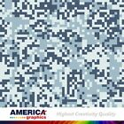 US Army Pixel 1 USA Camouflage Military Graphics Vehicle Decal Vinyl Film Wrap