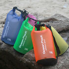 2 30L Sport Waterproof Dry Bags Backpack Pouch Floating Boating Kayaking Camping