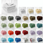 Pack of 8 - 100% Cotton Towels Cloths Face Washers 30 x 30cm